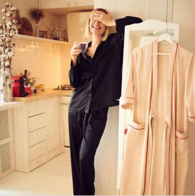 Шелковая пижама
