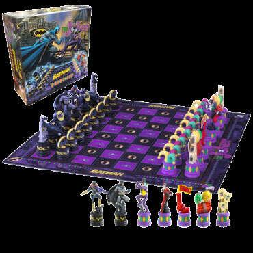 Batman - Batman Chess Set (Dark Knight vs Joker) / Шахматы Бэтмен - Темный рыцарь против Джокера