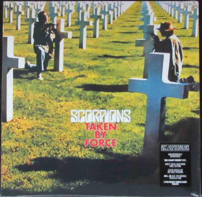 Винил Scorpions — Taken By Force