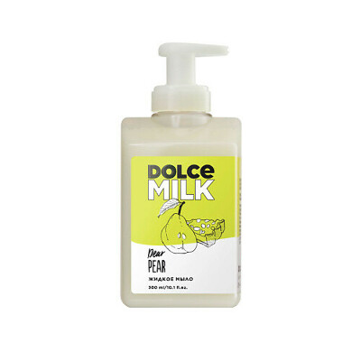 DOLCE MILK Жидкое мыло «Груша-дорогуша»