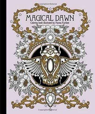 """Magical Dawn Coloring Book : Published in Sweden as """"Magisk Gryning"""""""