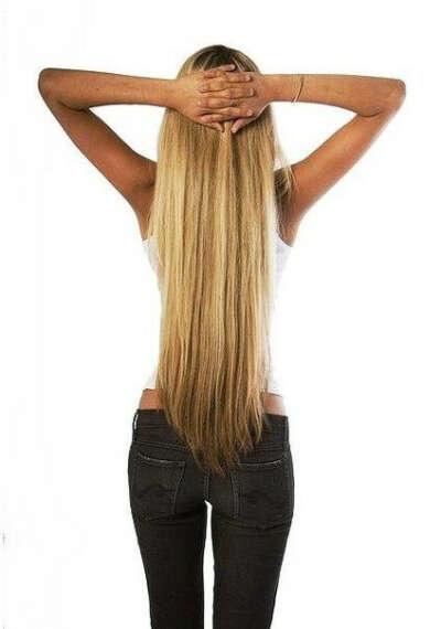 Цель : длинные волосы