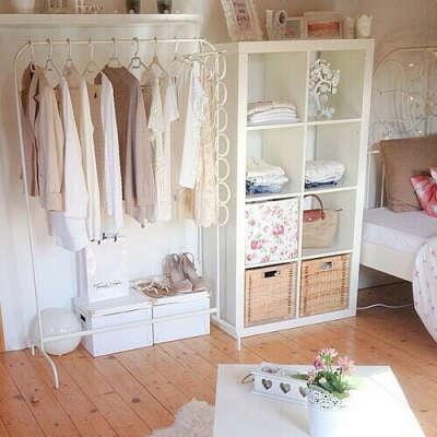 Уютный гардеробный закуток