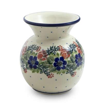 ваза круглая