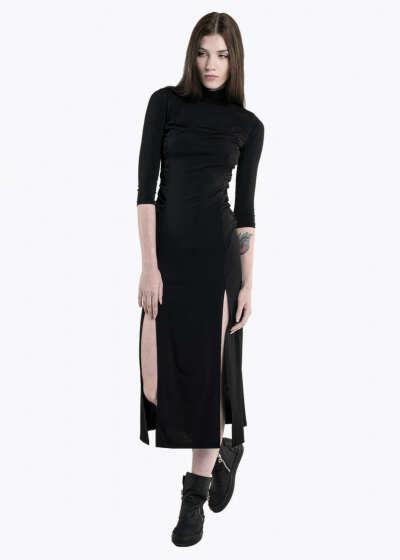 DRESS CHIMERA. BLACK