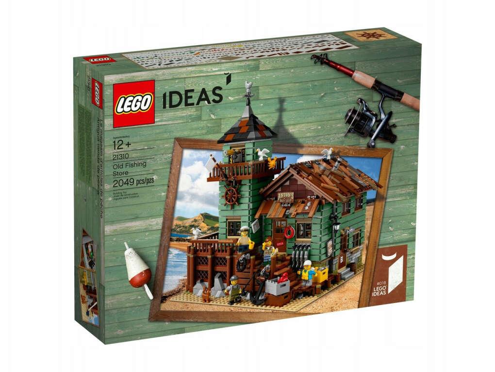 """Конструктор Lego Ideas 21310 """"Старый рыболовный магазин"""""""