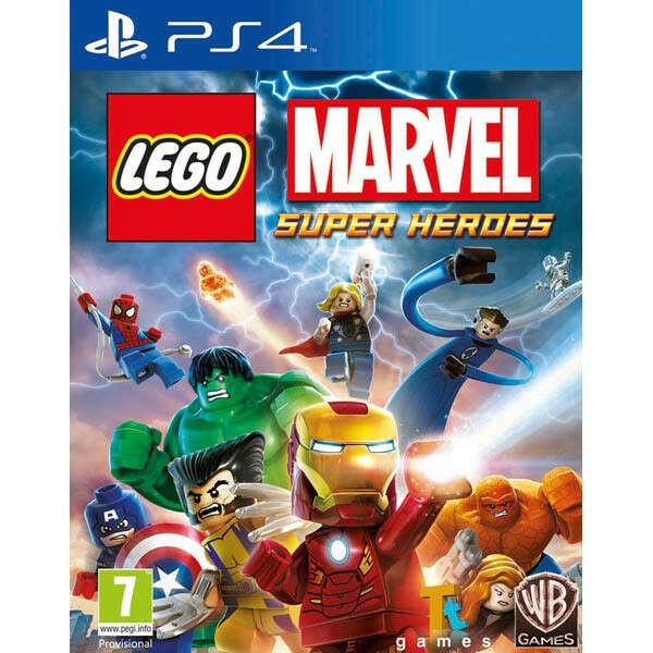 Видеоигра для PS4 Медиа LEGO Marvel Superheroes