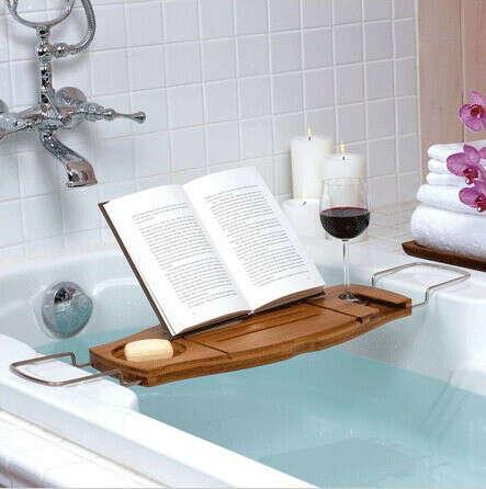 подставка для книги в ванну