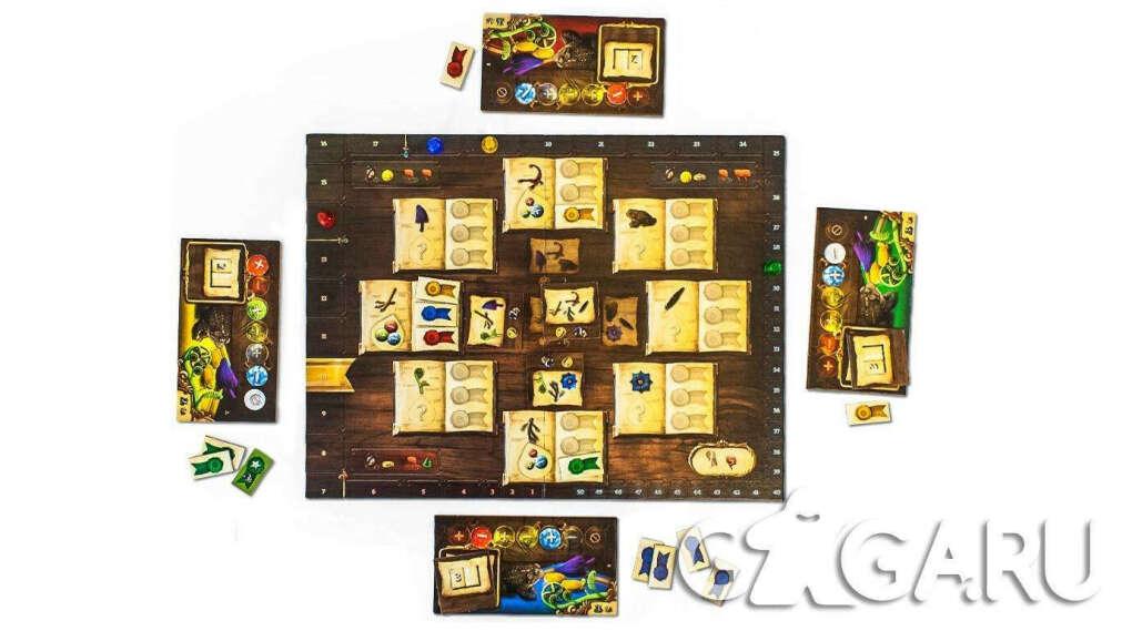Настольная игра Алхимики - обзор, отзывы, фотографии | GaGaGames - магазин настольных игр в Санкт-Петербурге