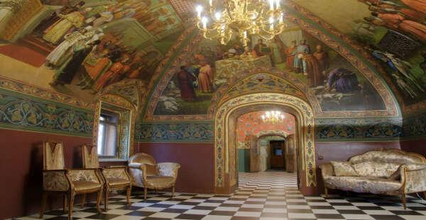 На экскурсию во дворец Юсуповых
