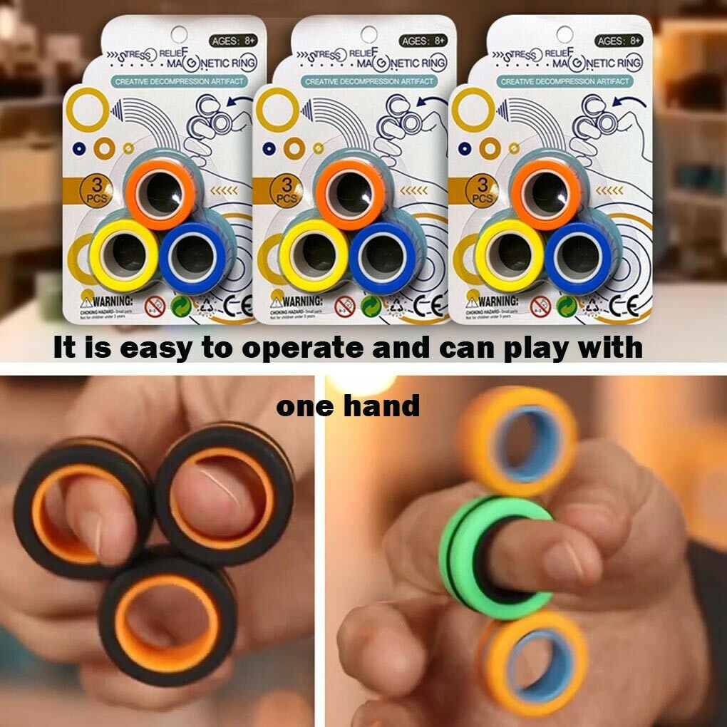 Magnetic Fingers Spinner Magnetic Rings — Luxenmart Up to 80% Off