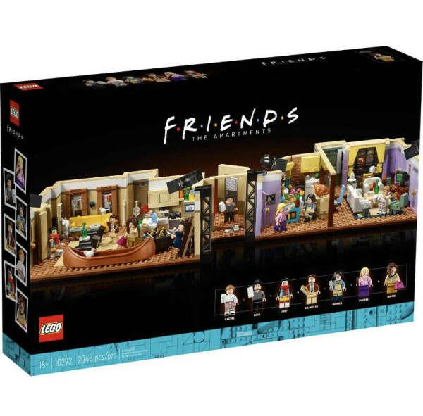 Lego Creator квартира из сериала «Друзья»