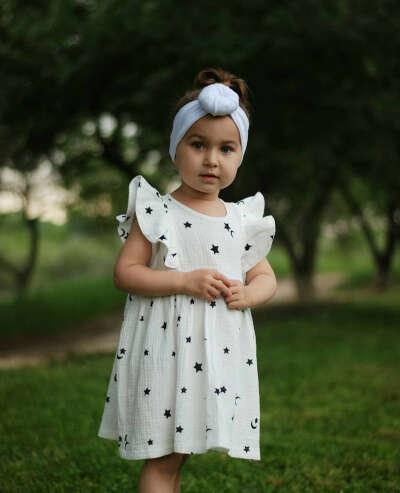 Муслиновое платье для доченьки