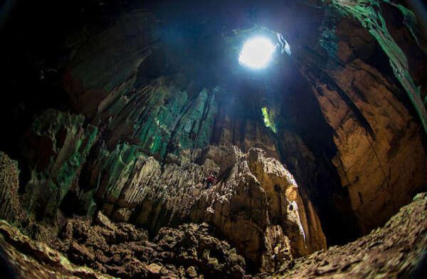 Побывать в пещере ласточек (Мексика)