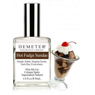 Духи «Горячий шоколадный пломбир» (Hot fudge sundae)