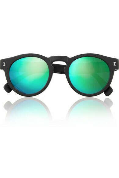 Зеркальные очки с цветными стеклами