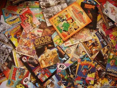 Коллекцию комиксов