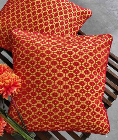 Color Blast Lace cushion Cover – Set of 5