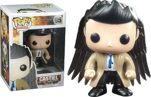 Funko Pop! Television #95 Supernatural Castiel with Wings Exclusive Figure