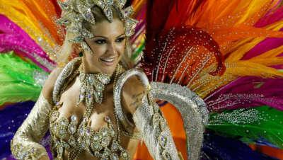 На карнавал в Рио-де-Жанейро