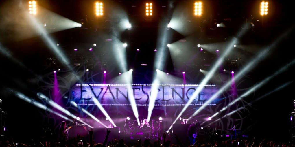 На концерт Evanescence