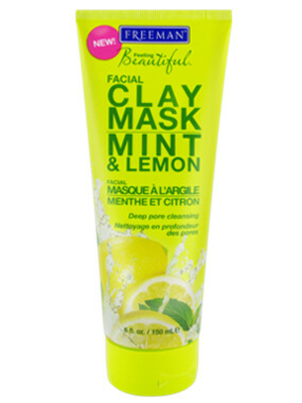 Freeman Mint & Lemon Facial Clay Mask