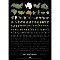 Плакат с инфографикой «Суша»