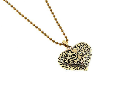 Кулон сердце
