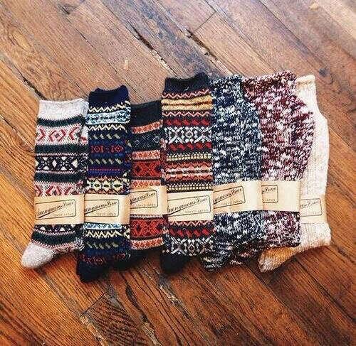 Набор теплых носочков
