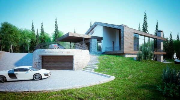 Дом 400 м2