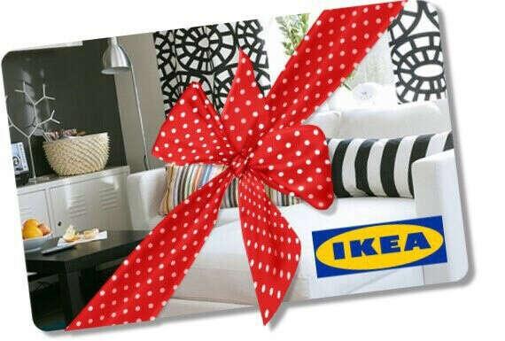Подарочная карта IKEA