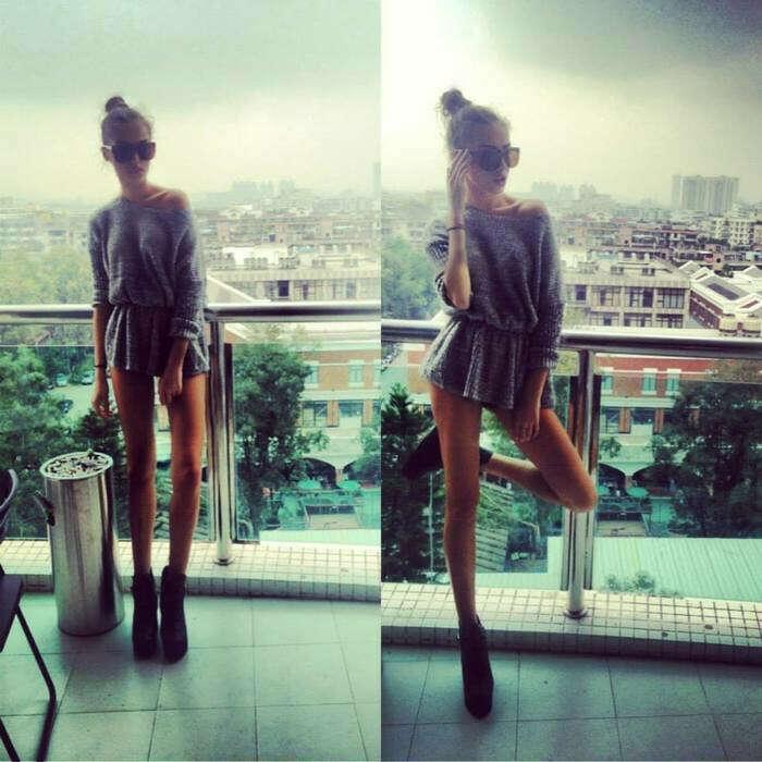 skinny legs