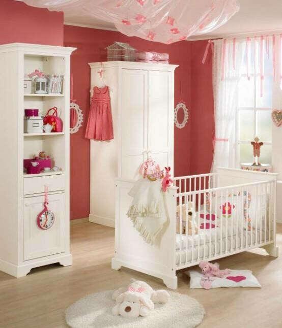 мебель белую в детскую