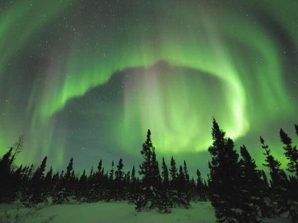 To see Aurora Borealis