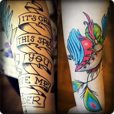 Сделать новую татуировку