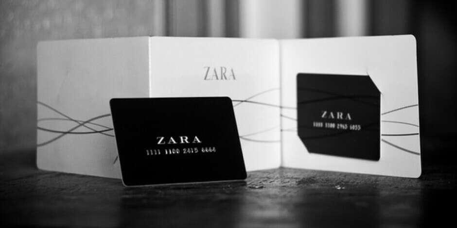 Подарочная карта Zara Kids