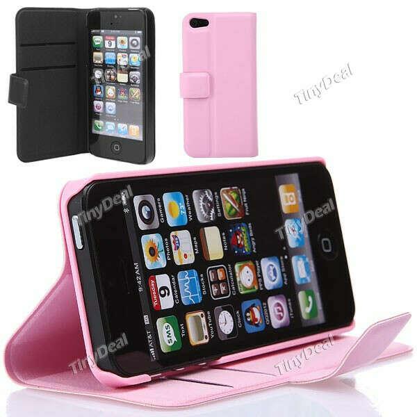 iPhone 5 защитный кожаный чехол