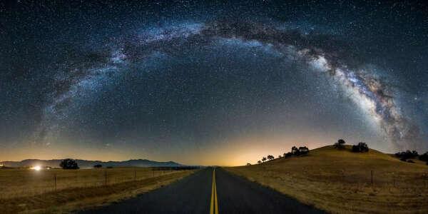 увидеть звёздное небо с вершины горы