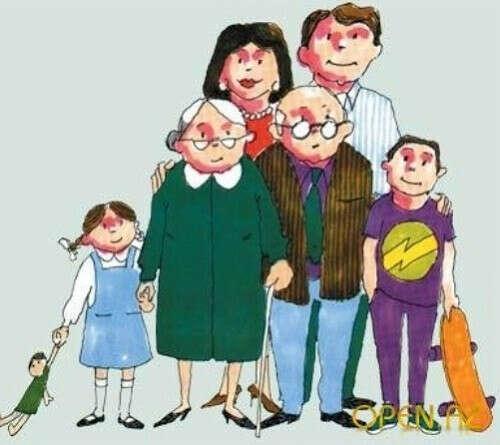 счастья и здоровья моей семье