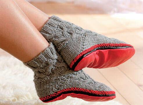 Носки - тапки