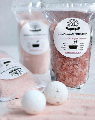 соль, бомбочки для ванной