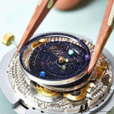 Часы Midnight Planetarium