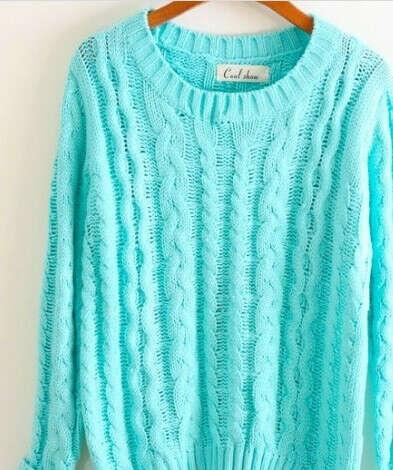 Хочу свитер мятного оттенка