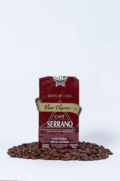 Кубинский кофе в зернах Serrano