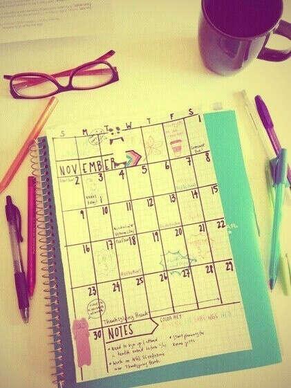 составлять план на каждый день