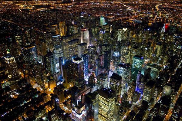 Хочу прогуляться по ночному Нью-Йорку