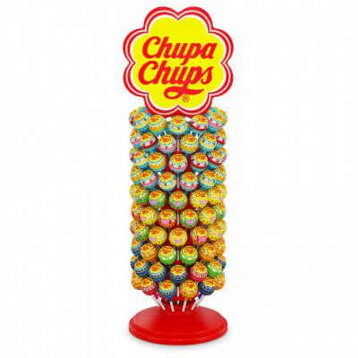 Карамель Chupa Chups, дисплей, 120шт по 12г