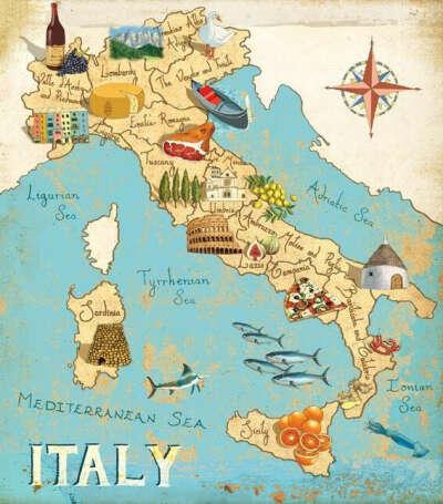 Посетить города Италии