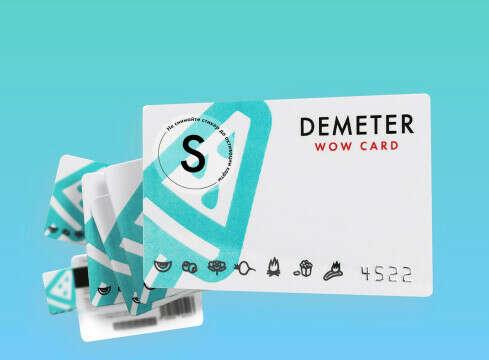 Сертификат Demeter на любую сумму