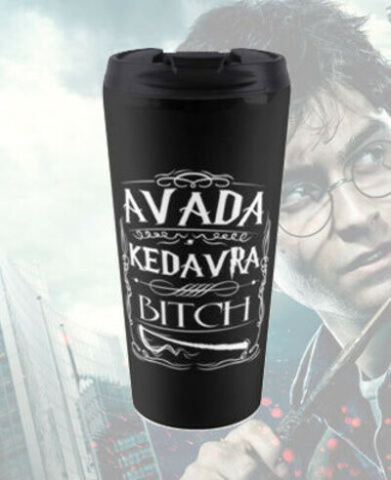 Термокружка AVADA KEDAVRA BITCH
